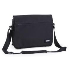 Чёрная конференц-сумка BUSINESS с наплечным ремнем