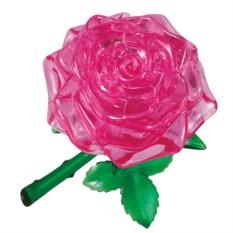 3D головоломка Розовая роза