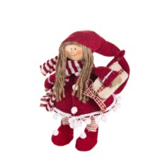 Декоративная кукла Малышка в шапочке