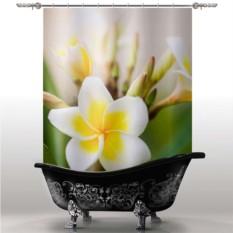 Шторка для ванны Цветок