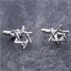 Запонки Звезда Давида