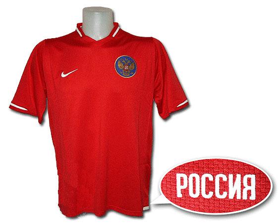 Спортивная майка «Россия» красная