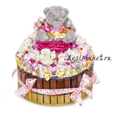 Торт-шкатулка С днем рождения!
