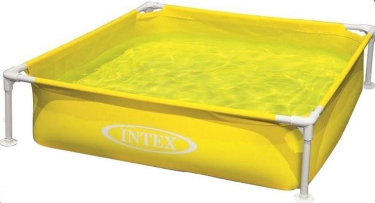 Детский желтый бассейн Intex