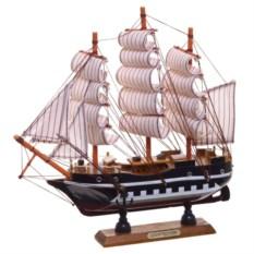 Однопалубная подарочная модель корабля