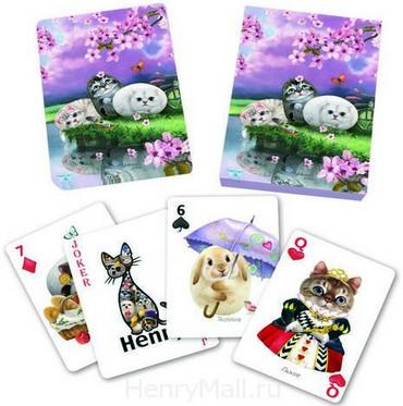 Игральные карты «Цветы вишни»