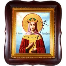 Елена Святая равноапостольная царица. Икона на холсте.