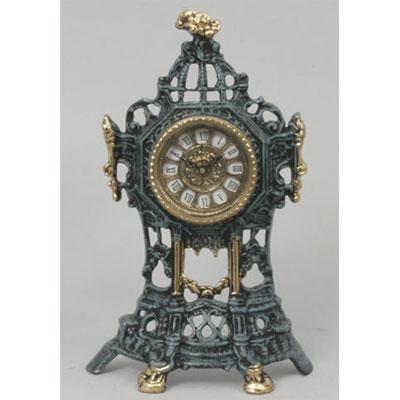 Часы настольные из бронзы «Половинки» Virtus