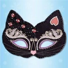 Карнавальная маска «Кошка»