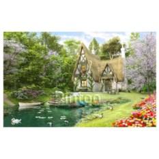 Пазл Pintoo 4000 деталей Д. Дэвисон Весна на озере