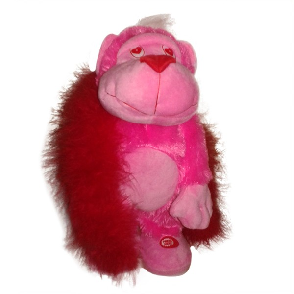 Поющая и танцующая игрушка Гламурная обезьянка
