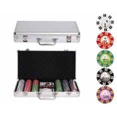 Набор для покера на 300 фишек Royal Flush