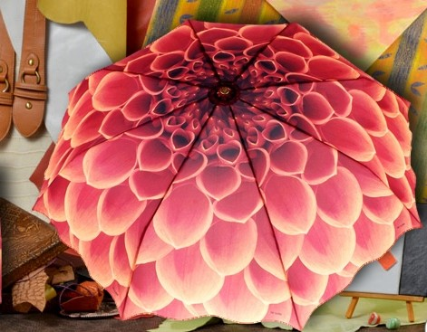 Женский зонт Цветок
