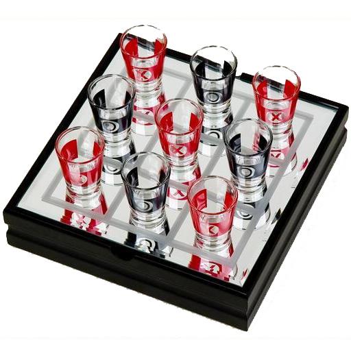 Игра «Пьяные крестики-нолики»