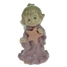 Фарфоровая статуэтка Ангелочек