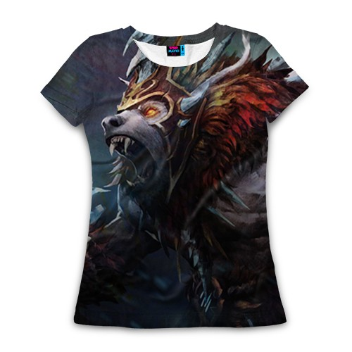 Женская футболка 3D Урса